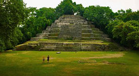 lamanai maya ruin, orange walk belize